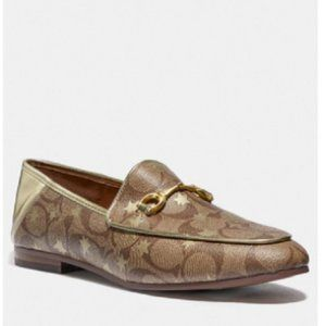 $108 *NEW* COACH Haley Loafer With Star Print